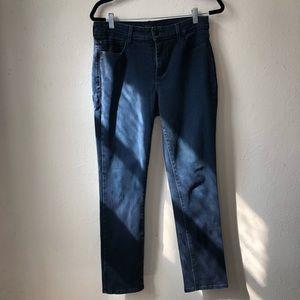 NYDJ women's skinning legging jean dark wash sz 10